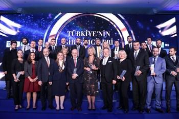 Türkiye'nin Girişimcileri Ödül Töreni