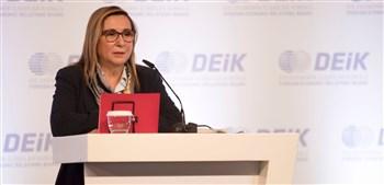 Bakan Pekcan, DEİK İş Konseyleri Mali Genel Kurulu'na katıldı