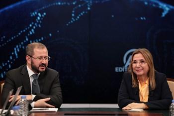 Bakan Pekcan, Anadolu Ajansı Editör Masası'nda, gündeme ilişkin açıklamalarda bulundu