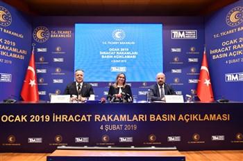 Bakan Pekcan, ocak ayı dış ticaret rakamlarını açıkladı