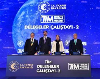 Bakan Pekcan, Türkiye İhracatçılar Meclisi Delegeler Çalıştayı'na katıldı
