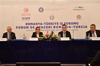 Ticaret Bakanı Pekcan Romanya'da