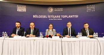 Bakan Pekcan, Bursa'da sanayici ve iş insanlarıyla bir araya geldi
