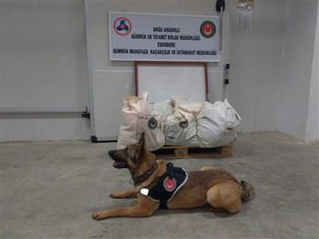 Gümrük Muhafaza Ekipleri Esendere Gümrük Kapısında 221 Kilogram Patlayıcı Madde Ele Geçirdi