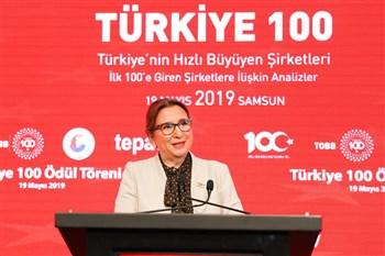 Türkiye'nin En Hızlı Büyüyen 100 Şirketi Ödül Töreni