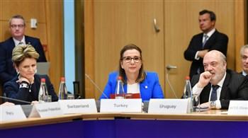 Bakan Pekcan, OECD Bakanlar Konseyi toplantısına katıldı