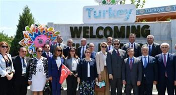 EXPO 2019 Pekin'de Türkiye Milli Günü açılışı
