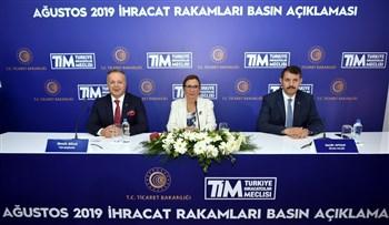 Ticaret Bakanı Ruhsar Pekcan, Ağustos Ayı İhracat Rakamlarını Açıkladı