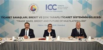 """""""Ticaret Savaşları, Brexit ve Çok Taraflı Ticaret Sisteminin Geleceği"""" Toplantısı"""