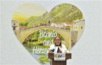 """Ticaret Bakanı Ruhsar Pekcan, Saraybosna'daki """"Uluslararası İş Forumu""""na Katıldı"""