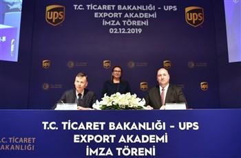 """""""Export Akademi"""" İşbirliği Protokolü İmza Töreni"""