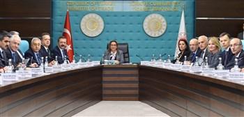 Ticaret Bakanı Ruhsar Pekcan STK temsilcileriyle bir araya geldi