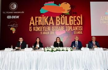 """Ticaret Bakanı Pekcan: """"Afrika'da Lojistik Merkezleri Kurma Çalışmalarımız Başladı"""""""
