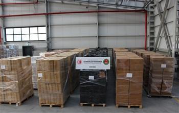 Gümrük Muhafaza Ekiplerince 624 Bin 800 Paket Kaçak Sigara Ele Geçirildi