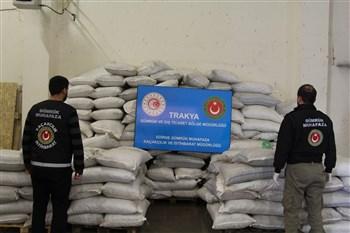 Gümrük Muhafaza Ekiplerince Kapıkule'de Rekor Uyuşturucu Yakalaması Gerçekleştirildi