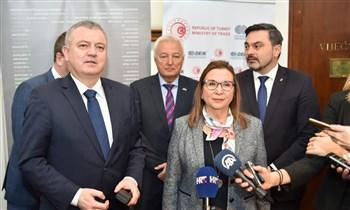 Türkiye ile Hırvatistan arasında 2 milyar dolarlık ticaret hedefi