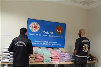 Trakya'daki Sınır Kapılarında Uyuşturucu Operasyonu