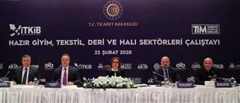 """Ticaret Bakanı Pekcan: """"Hazırgiyim ve tekstil sektöründe istihdam 1 milyon kişiyi aştı"""""""