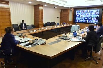 Bakan Pekcan, Ticaret Bakanlığı'nın Yurtdışı Temsilcileriyle Görüştü