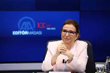 Ticaret Bakanı Ruhsar Pekcan, AA Editör Masası'na Konuk Oldu