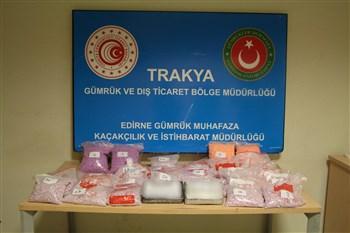 Kapıkule'de Uyuşturucu Operasyonu
