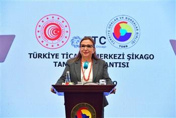 """Şikago'da """"Türkiye Ticaret Merkezi"""" Açıldı"""