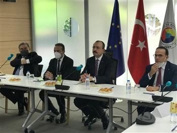 Ticaret Bakanı MUŞ, Brüksel'de STK Temsilcileri İle Buluştu