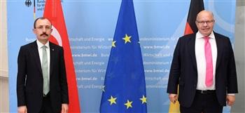 Ticaret Bakanı Muş, Almanya Ekonomi ve Enerji Bakanı Altmaier ile görüştü