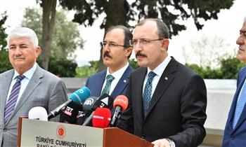 """Ticaret Bakanı Muş: """"Türkiye ve Azerbaycan'ın ticari ilişkilerini daha da geliştirmek istiyoruz"""""""