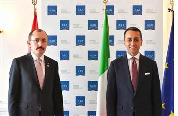 Ticaret Bakanı Muş, G20 toplantısı öncesinde ikili görüşmelerde bulundu