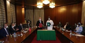 Ticaret Bakanı Mehmet Muş, Türkiye-Nijerya İş Forumu'nda konuştu